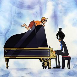 ビンクスの酒 (BONUS TRACK)钢琴谱