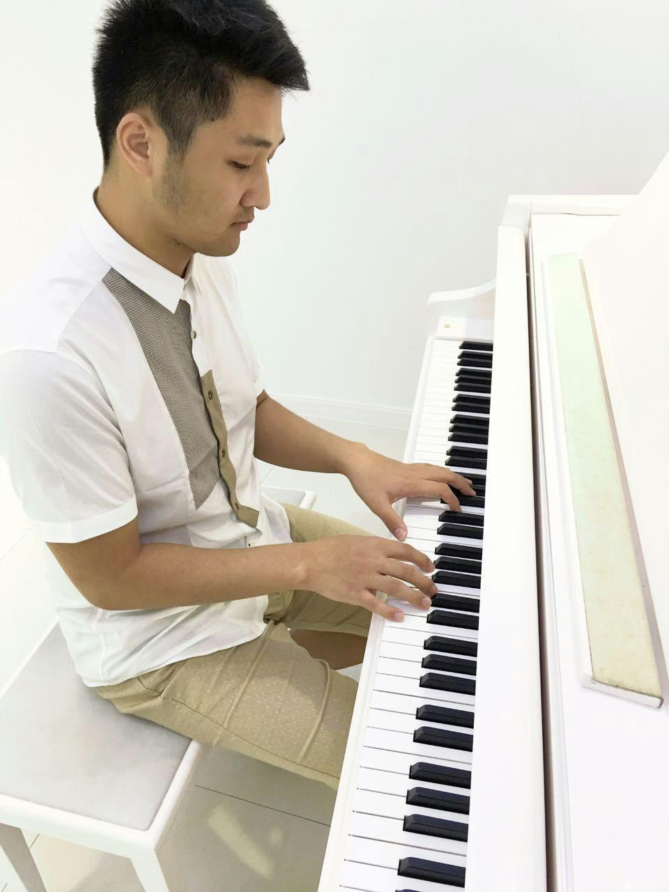 姜创钢琴的钢琴谱