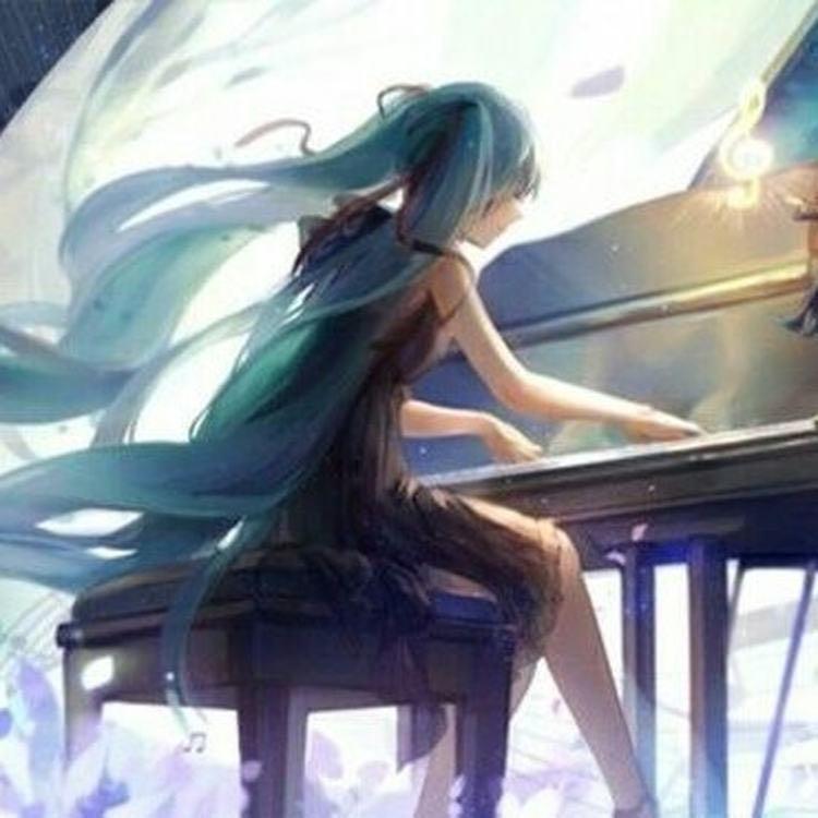 纯黑の交响的钢琴谱