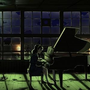 夜的钢琴曲九--下雨时你会想起谁钢琴谱