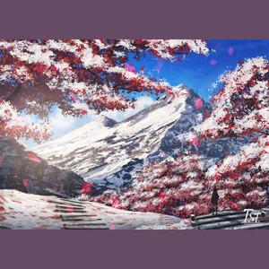 冬に咲いている花(盛开在冬天的花)四手联弹改编版钢琴谱