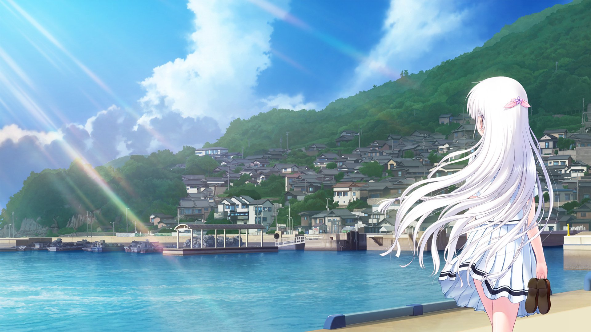 Sea,You&Next [ Summer Pockets bgm01b ]