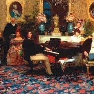 降E大调夜曲(四手联弹)钢琴谱