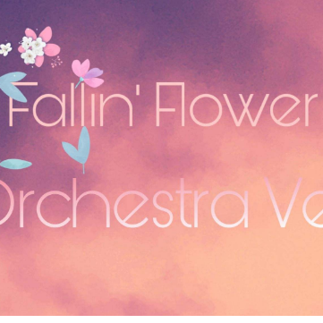 舞い落ちる花びら(Fallin Flower)-简谱钢琴钢琴谱
