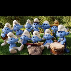 蓝精灵之歌--童声合唱--C大调钢琴谱