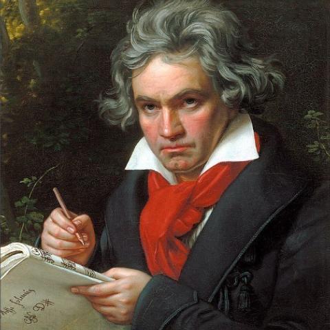 欢乐颂 完整指法 C调 初学者优选 贝多芬 简化版