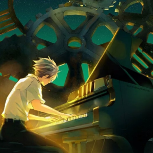 夜空中最亮的星钢琴谱