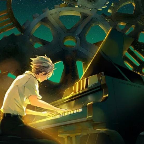 起风了钢琴谱