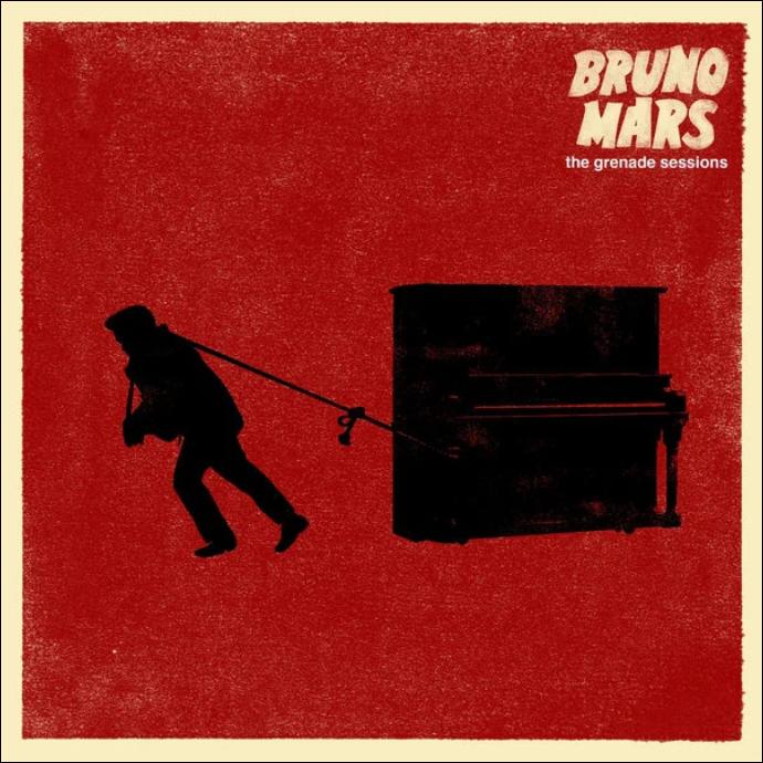 Grenade【原版伴奏谱】-Bruno Mars钢琴谱