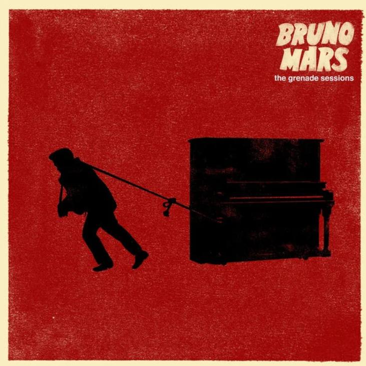 Grenade【降调版伴奏谱】Bruno Mars钢琴谱