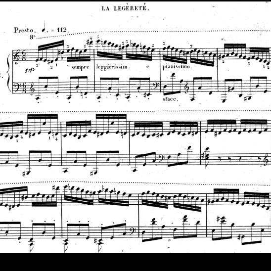 车尔尼小众练习曲
