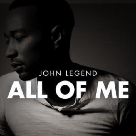 [双手简谱] All of Me 完整版 原调钢琴谱