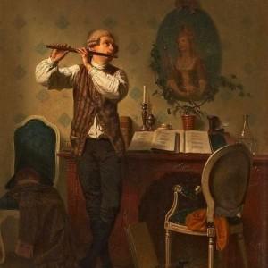 帕萨卡利亚(四手联弹)——超级好听系列钢琴谱