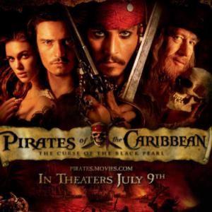 [双手简谱] He is a Pirate 加勒比海盗主题曲 原调 F调钢琴谱
