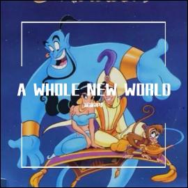 《A Whole New World》简谱。阿拉丁神灯主题曲(poc编配)钢琴谱