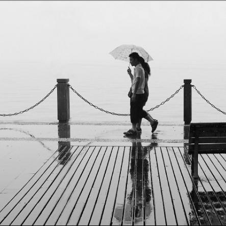 雨中漫步 简单演奏版 带指法
