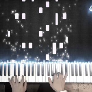 帕萨卡利亚抖音版 dylanf编配钢琴谱
