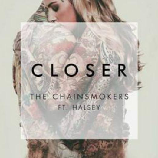 C调易弹Closer 烟鬼The Chainsmokers&Halsey钢琴谱