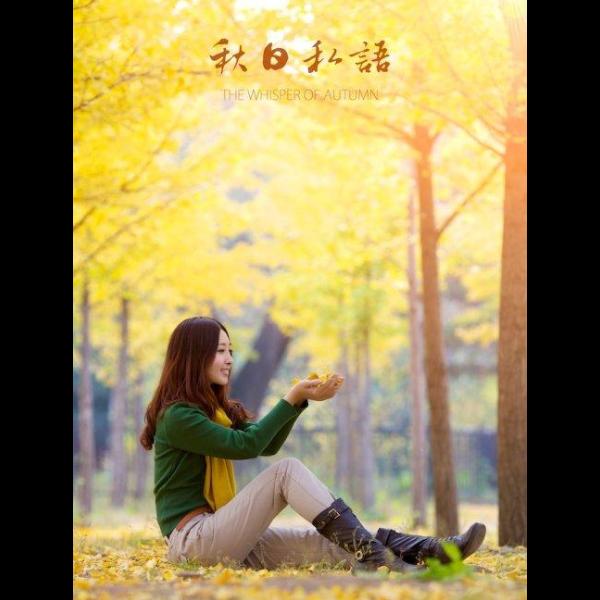 秋日私语-带指法钢琴谱