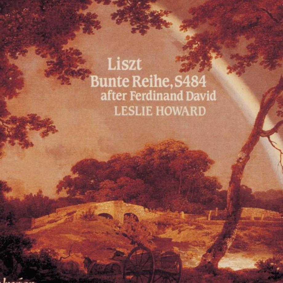 李斯特:五彩的序列—No.13 浪漫曲 (Bunte Reihe S.484 - No.13: Romanze in F sharp major)钢琴谱