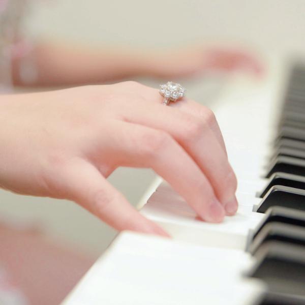 开心梦幻练音阶—左手Bb大调「带指法」《日光城》