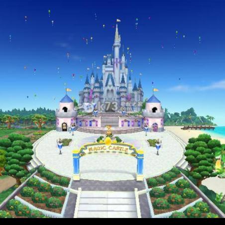 魔法城堡 (《洛克王国3: 圣龙的守护》动画电影主题曲) 演奏版钢琴谱