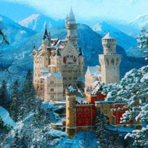 魔法城堡 (《洛克王国3: 圣龙的守护》动画电影主题曲)C大调简易版钢琴谱
