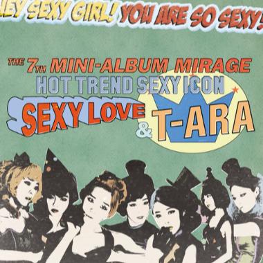 SEXY LOVE钢琴简谱-数字双手-T-ara (티아라)