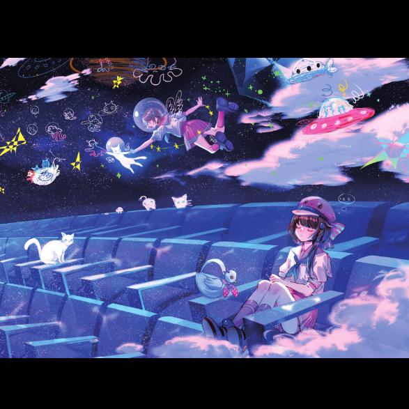天文馆的猫钢琴简谱-数字双手-泠鸢yousa