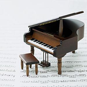 In un'altra vita (在另一种生活中) 原版-灰白钢琴谱