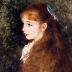 亚麻色头发的少女钢琴谱