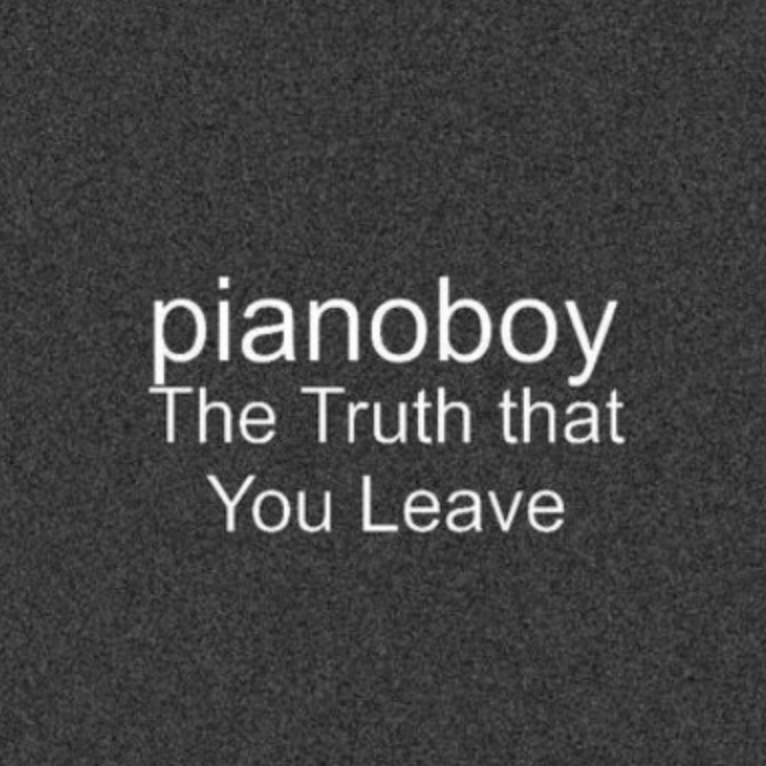 The Truth That You Leave高度还原 你离开的事实 你离开的真相钢琴谱