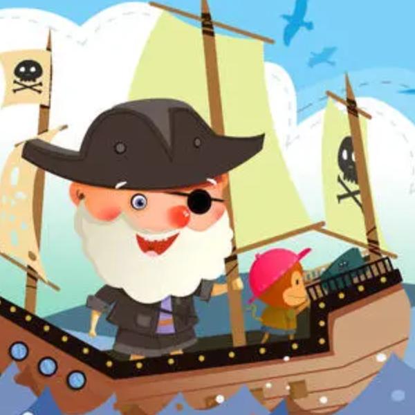 【初学者】加勒比海盗主题曲-他是海盗钢琴谱