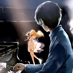 Shigatsu Wa Kimi No Uso钢琴简谱-数字双手