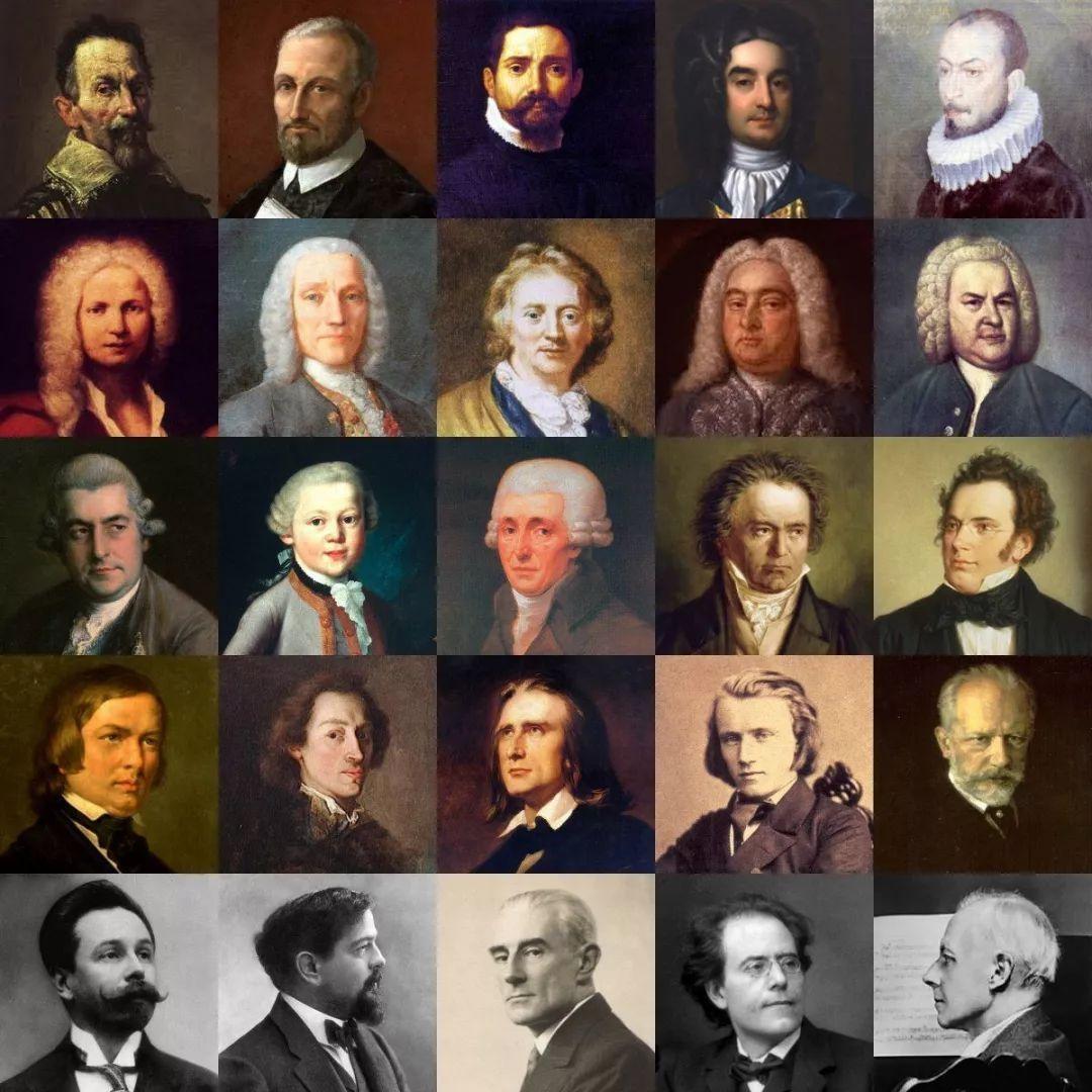 古典音乐钢琴谱