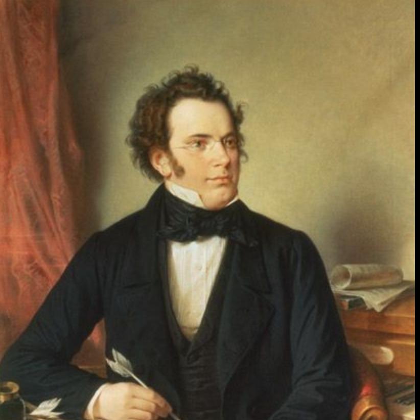 【长笛与钢琴】舒伯特《引子与变奏》OP.160钢琴谱