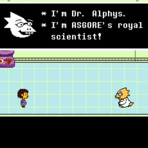 钢琴谱:【Undertale】Alphys - 艾菲斯