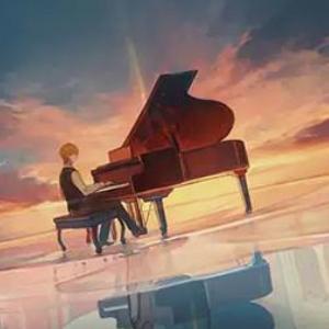 错位时空 原版降调钢琴谱