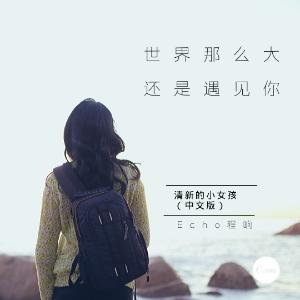 世界那么大还是遇见你 程响 简易版(清新的小女孩中文版)钢琴谱