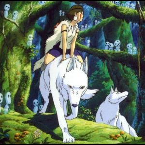 幽灵公主(日版原谱)Ashitaka and San钢琴谱