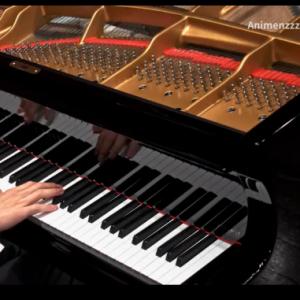 【Animenz】吉卜力工作室 久石让歌曲超燃串烧 钢琴版钢琴谱